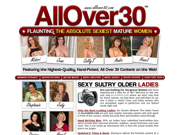 All Over 30 Original Get Password