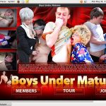 Boysundermatures.com Password Username