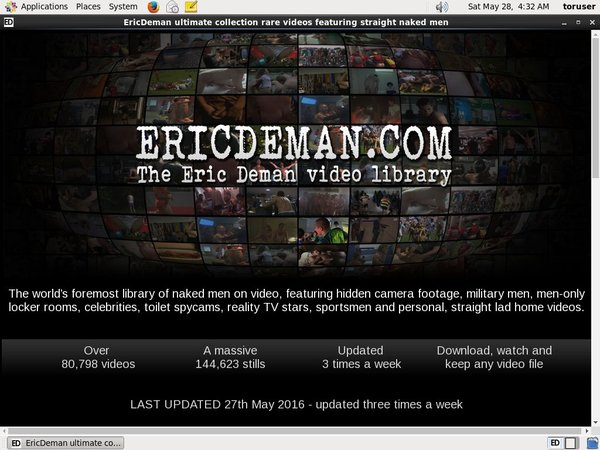 Eric Deman Bank Payment