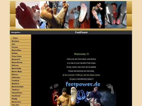 Feetpower Nude