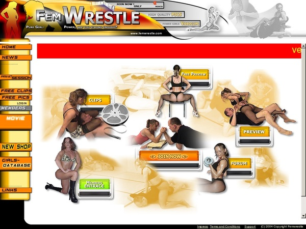 Femwrestle Renew Membership