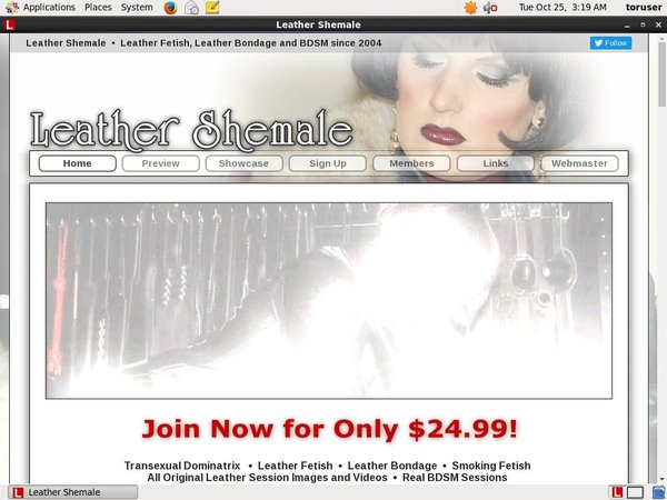Free Leather Shemale Passes