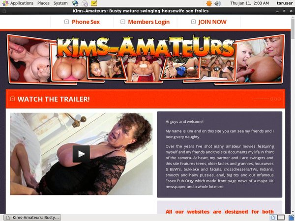Free User For Kims-amateurs.com