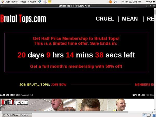 Get Into Brutaltops.com Free