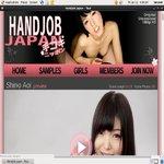 Handjob Japan Users