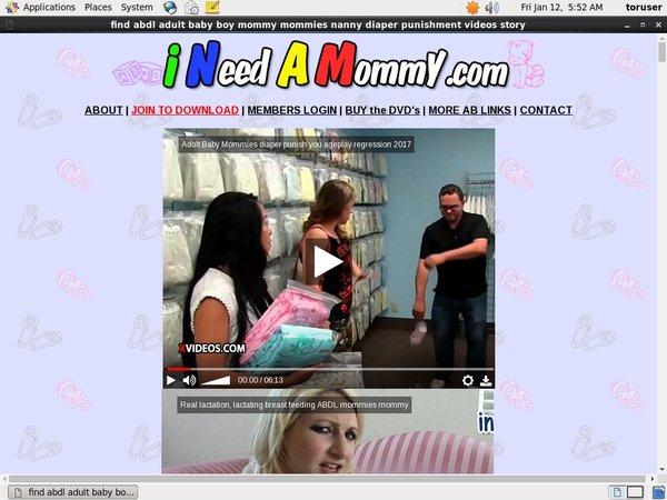 Ineedamommy.com Id