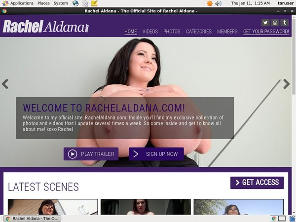 Rachelaldana Free Pass