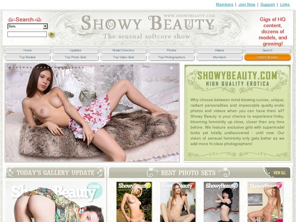 Showy Beauty Password Bugmenot