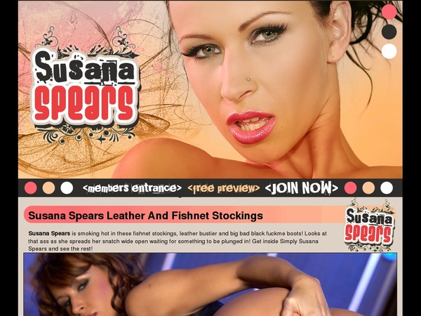 Susanaspears.net Sign In