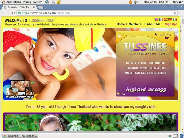 Tussinee.com Free Acounts