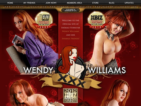 Wendywilliamsxxx.com With Maestro Card