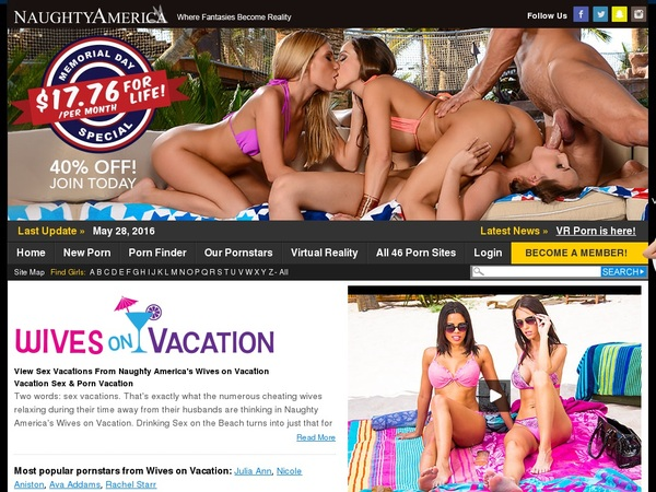 Wivesonvacation.com Sign Up