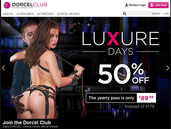 Free Premium Dorcelclub Accounts