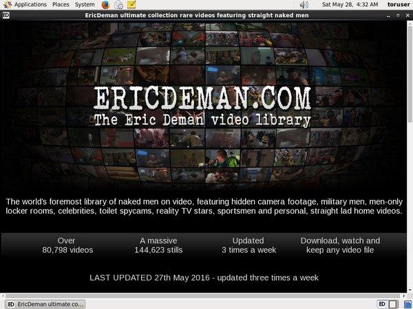 Eric Deman Passwort