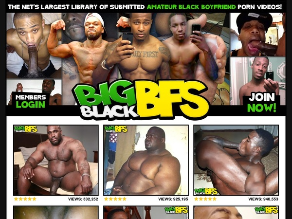 Big Black BFs Men