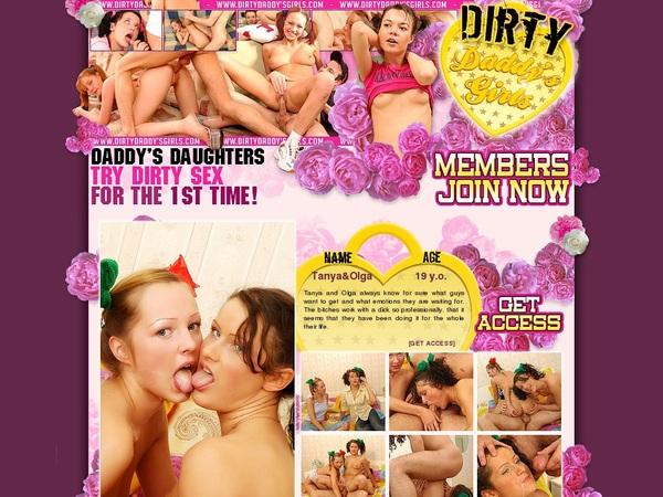 Dirtydaddysgirls Password