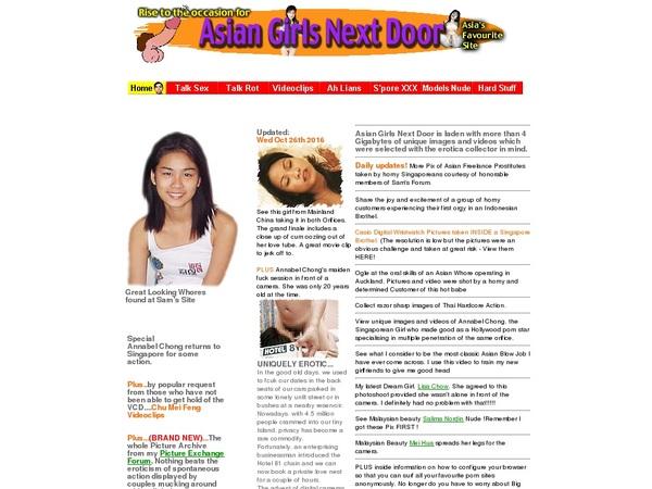 Asian Girls Next Door Account Passwords
