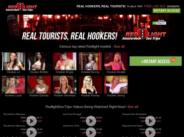 Redlightsextrips Pay Pal Account
