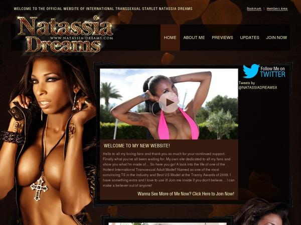 Natassia-dreams.com Sing Up