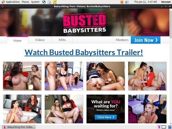 Busted Babysitters Account Generator