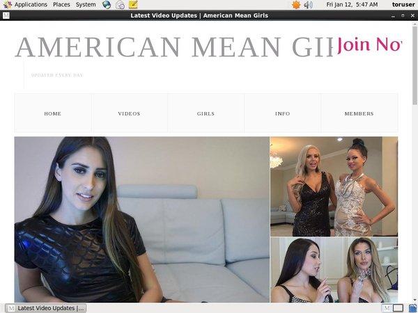 Americanmeangirls.com Porn Account