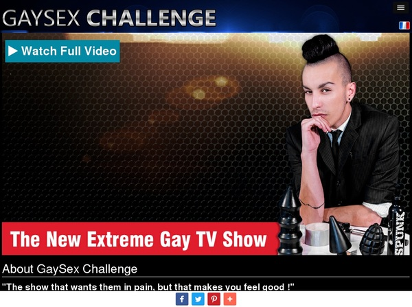 Free Gay Sex Challenge Pass