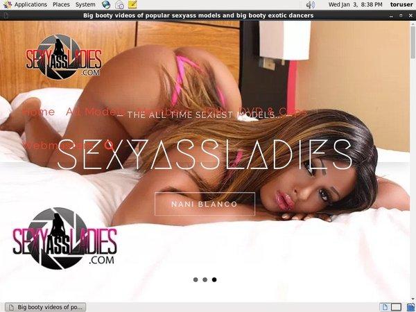 Sexyassladies.com Membership Account