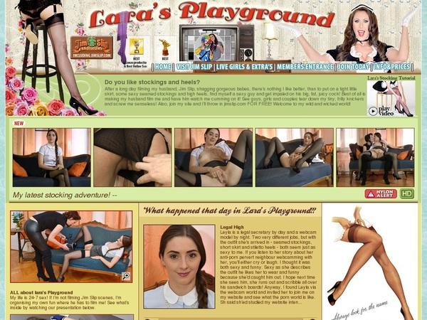 New Lara's Playground Account