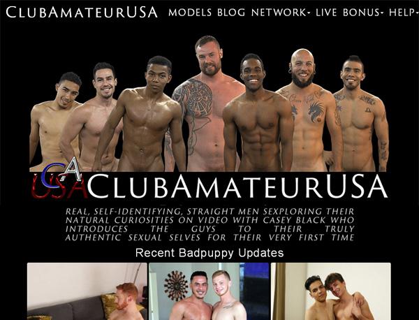 Free Clubamateurusa.com Pass