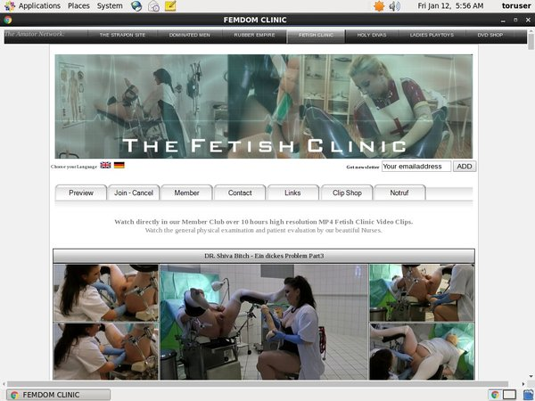 The Fetish Clinic Without Card