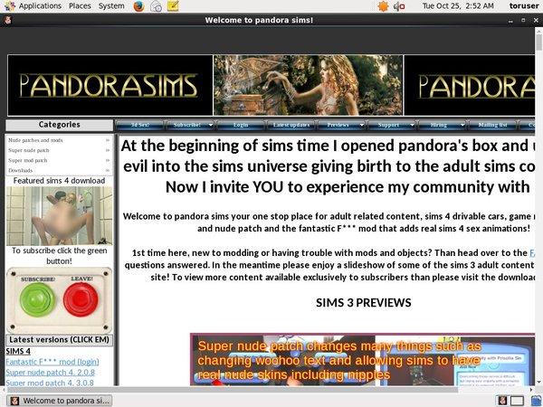 Pandorasims Free Passwords